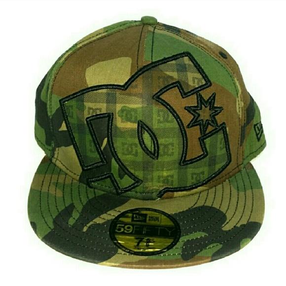 DC Shoe Co. USA Camouflage Ball Cap M012 6752e058cea6